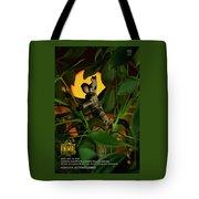 The 1-18 Animal Rescue Team - Cat In Jungle Tote Bag