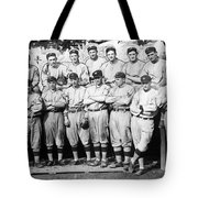 The 1911 New York Giants Baseball Team Tote Bag