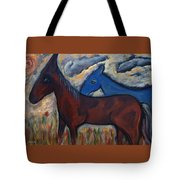 The 1st Mexican Ponies Tote Bag