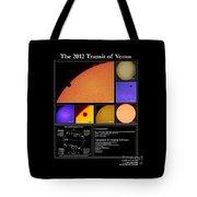 The 2012 Transit Of Venus Tote Bag