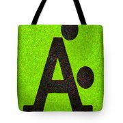 The A With Style Lime - Pa Tote Bag