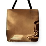 The Abandoned Boots  Tote Bag
