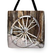 The Abandoned Wheel  Tote Bag