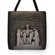 The Abraham Lincoln Memorial Tote Bag