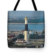 The Absecon Lighthouse In Atlantic City New Jersey Tote Bag