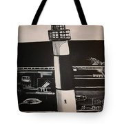 The Absecon Lighthouse Tote Bag
