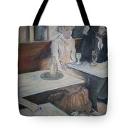 The Absinthe Drinker Tote Bag