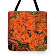 The Abstract Days Of Autumn Tote Bag