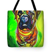 The Abstract Mastiff Tote Bag
