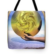 The Ace Of Coins Tote Bag