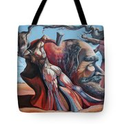 The Adam-eve Delusion Tote Bag