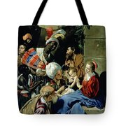 The Adoration Of The Kings Tote Bag