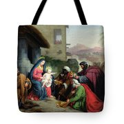 The Adoration Of The Magi Tote Bag by Jean Pierre Granger