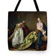 The Adoration Of The Magi Tote Bag by Pieter Fransz de Grebber