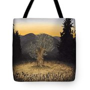 The Adoration Of The Olive Tree Tote Bag
