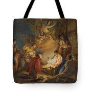 The Adoration Of The Shepherds Tote Bag