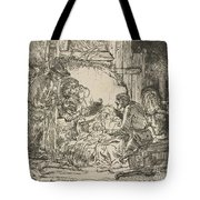 The Adoration Of The Shepherds: With The Lamp Tote Bag