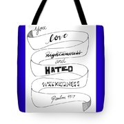 The Adored One Tote Bag