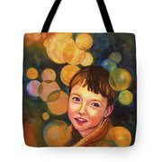 The Afterglow Tote Bag by Angelique Bowman