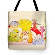 The Age Of Aquarium Tote Bag