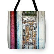 The Aged Door Tote Bag