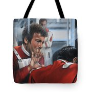 The Agony Of Loss Tote Bag by Kim Lockman