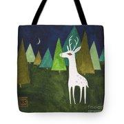 The Albino Deer Tote Bag
