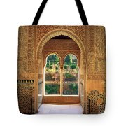 The Alhambra Torre De La Cautiva Tote Bag