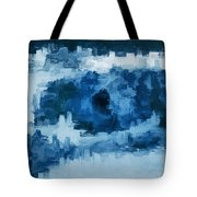 The All Seeing Blue Eye Tote Bag