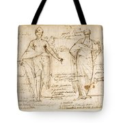 The Allegorical Figures Of Reason And Wisdom  Tote Bag