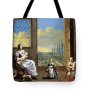 The Allegory Of Childhood Tote Bag