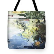 The Alster In High Summer Tote Bag