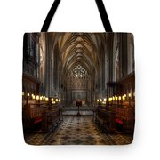 The Altar Tote Bag by Adrian Evans