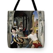 The Altar Of St. John, Right Panel Tote Bag