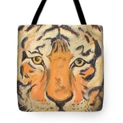 The Amber Stare Tote Bag