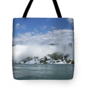 The American Falls At Niagra Tote Bag