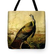 The American Wild Turkey Cock Tote Bag