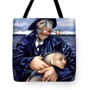 The Ancient Mariner Tote Bag by Patrick Anthony Pierson