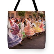 The Andalusian Fair, A Party In The Streets Tote Bag