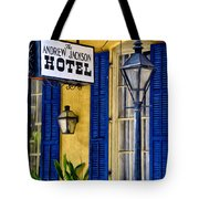 The Andrew Jackson Hotel - New Orleans Tote Bag