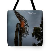 The Angel At Christmas Tote Bag