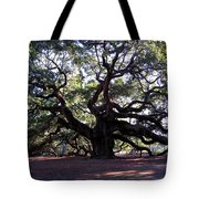 The Angel Oak In Charleston Sc Tote Bag