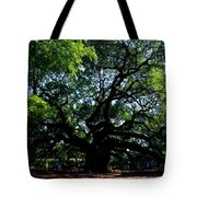The Angel Oak In Summer Tote Bag