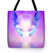 The Angel Of Divine Protection Tote Bag
