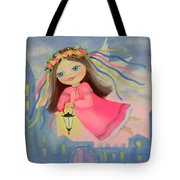 The Angel Of Light Tote Bag