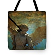 The Angel Of The Last Days Tote Bag
