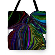 The Angel Of The Rainbow Tote Bag