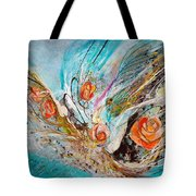 The Angel Wings #10. The Five Roses Tote Bag