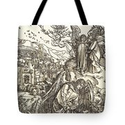 The Angel With The Key To The Bottomless Pit Tote Bag
