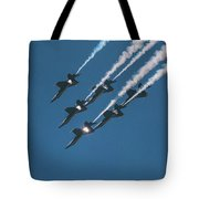 The Angels Are Coming Tote Bag